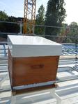 La ruche est en place sur le cantonnement